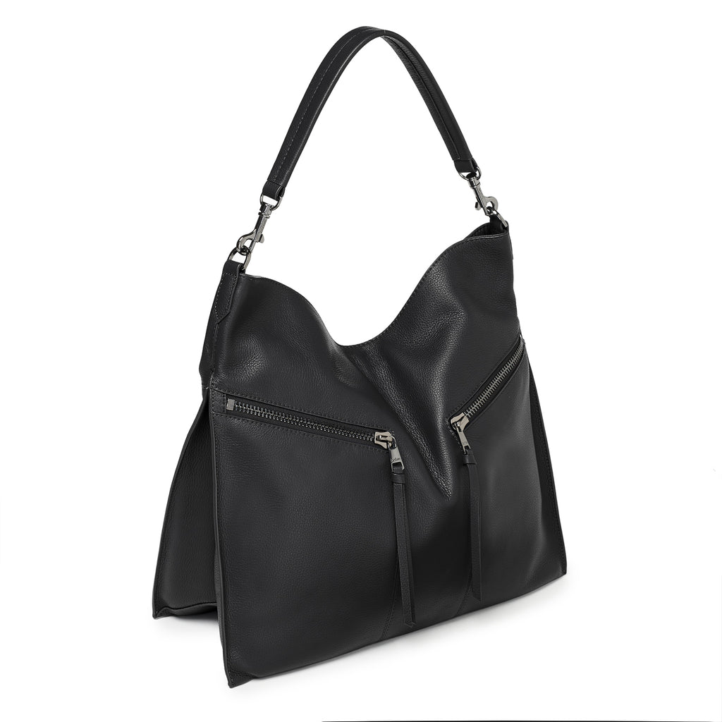 botkier trigger hobo black front angle