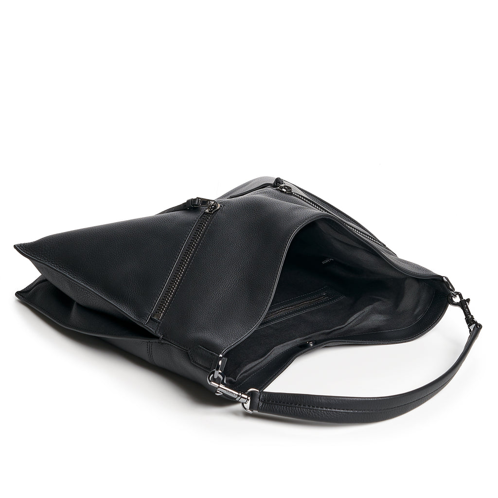 botkier trigger hobo black inside