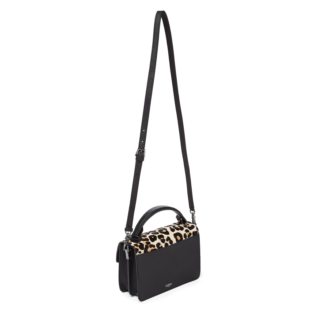 botkier cobble hill crossbody leopard leather strap