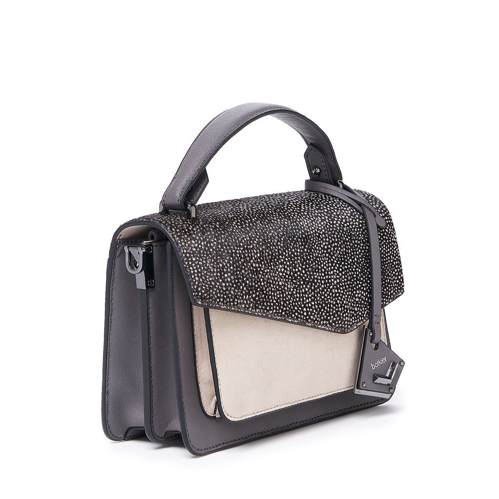 botkier cobble hill crossbody smoke snowfur angle