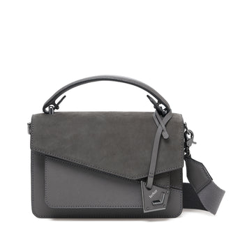 botkier cobble hill crossbody smoke sliced front
