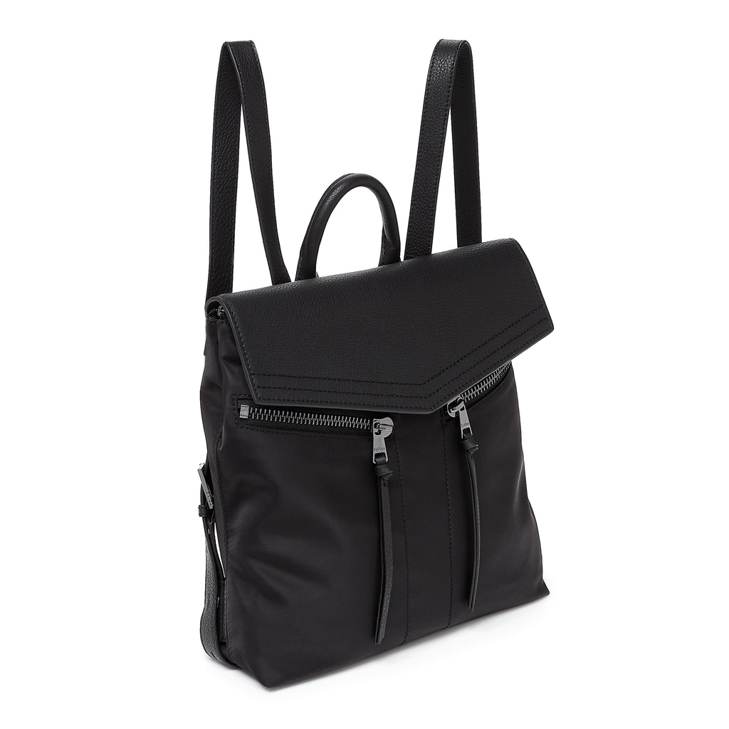 botkier trigger nylon backpack black angle