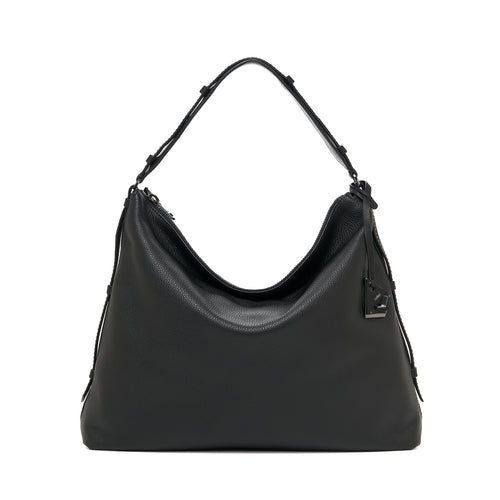 botkier broadway hobo black front