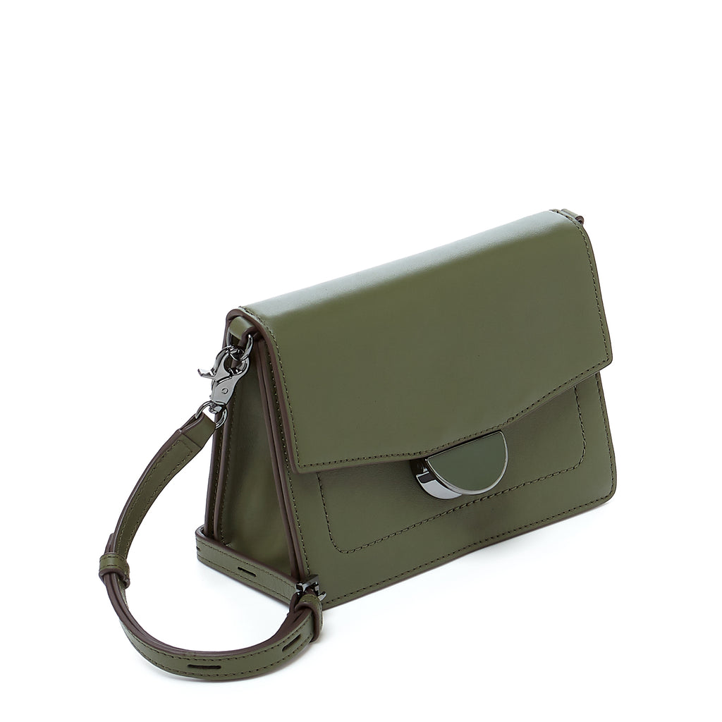 botkier astor crossbody hunter green angle