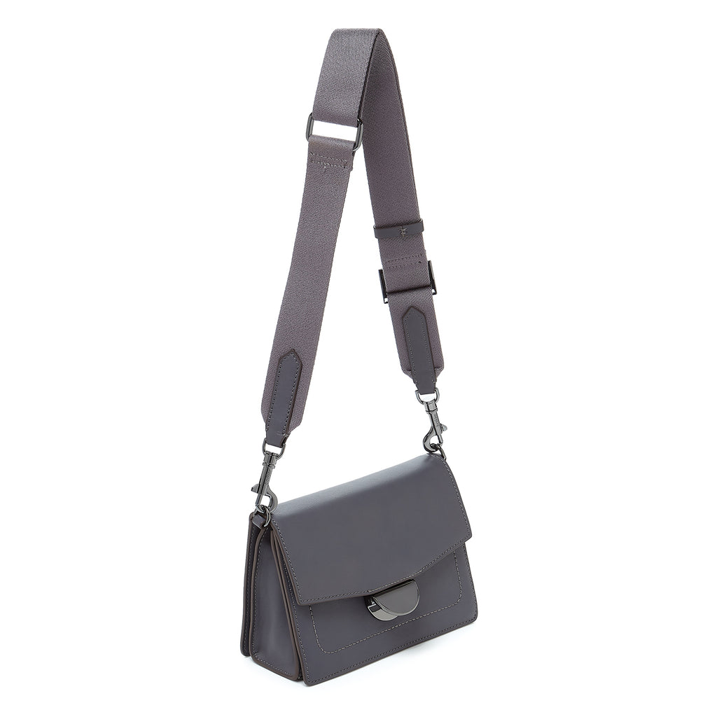 botkier astor crossbody smoke webbed strap