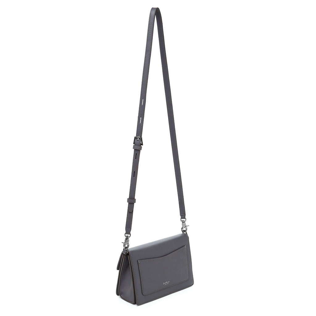 botkier astor crossbody smoke leather strap