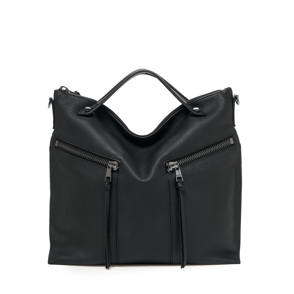 botkier trigger convertible hobo in black