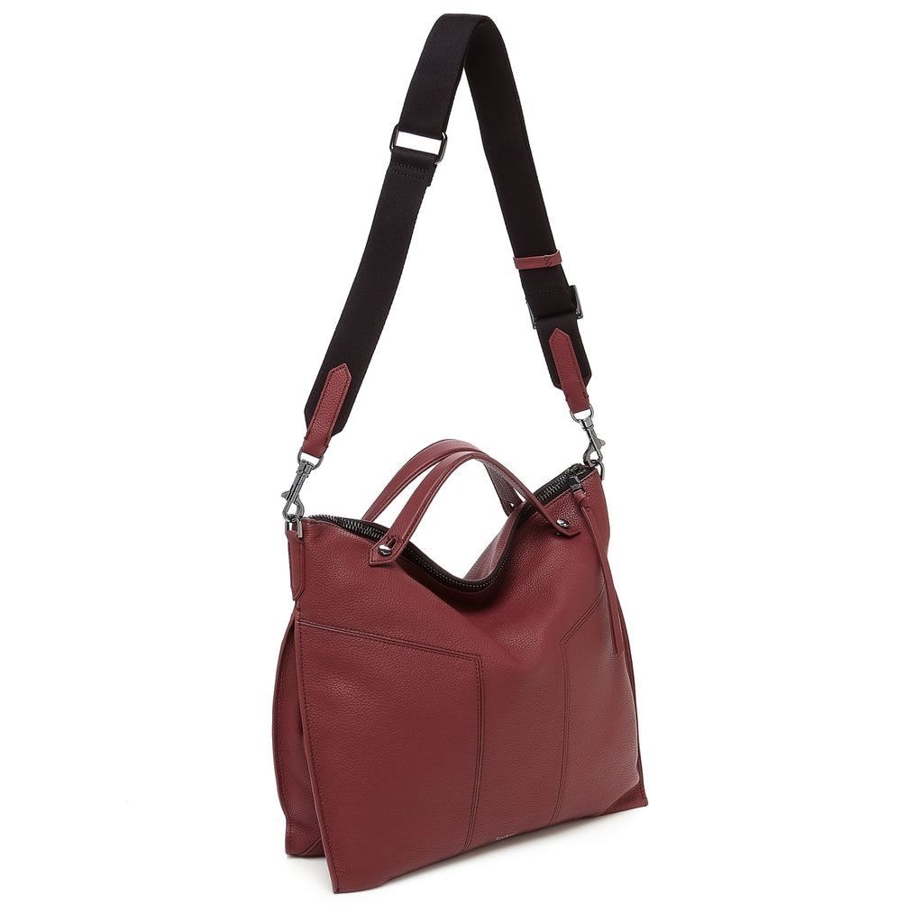 botkier trigger convertible hobo cordovan back with strap
