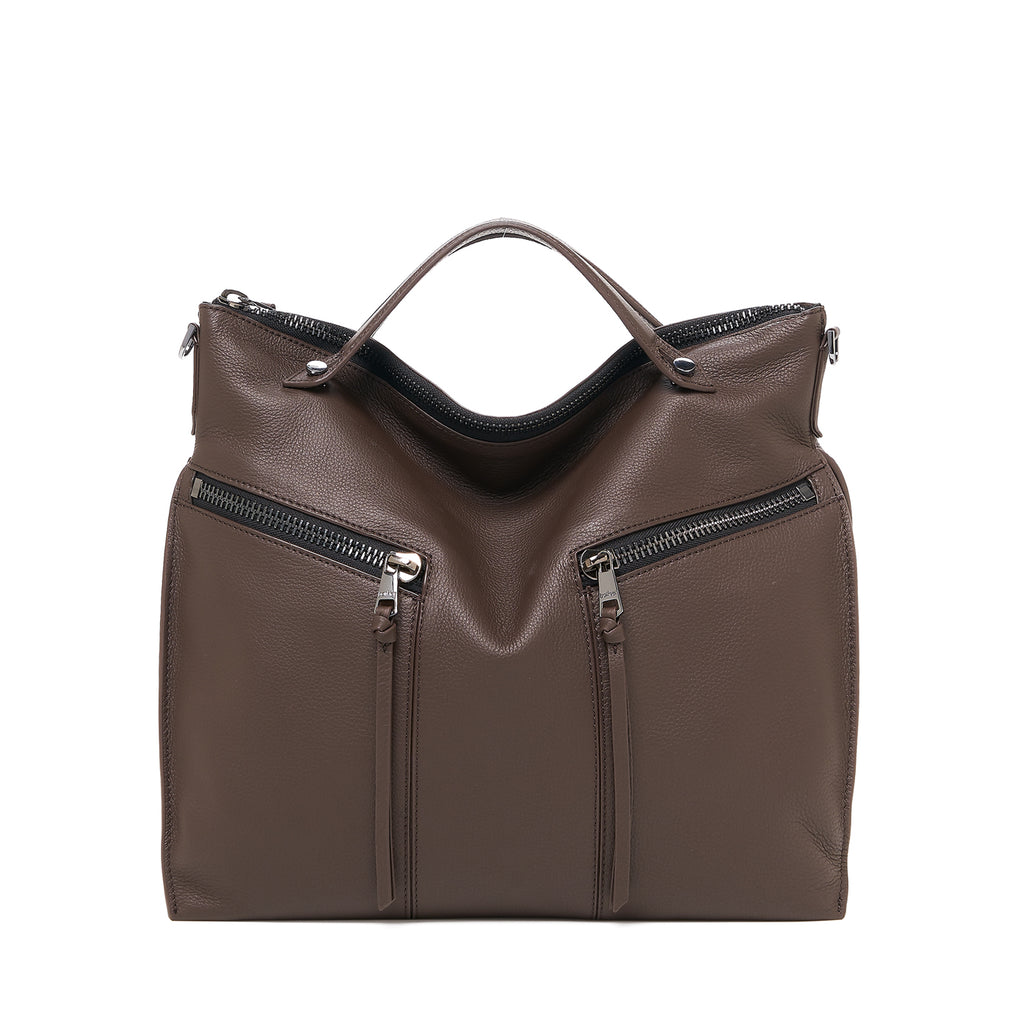 botkier trigger convertible hobo java front
