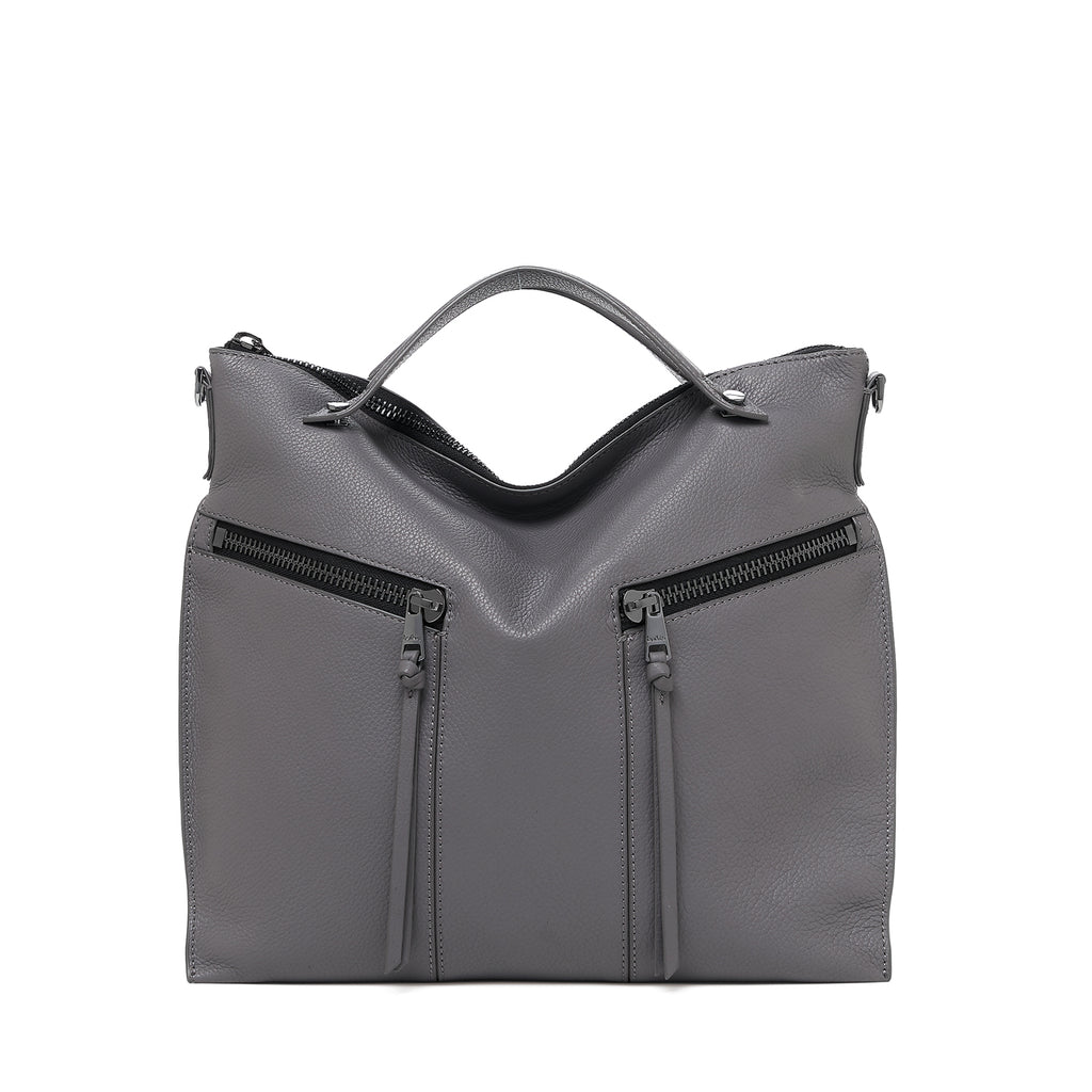 botkier trigger convertible hobo smoke front