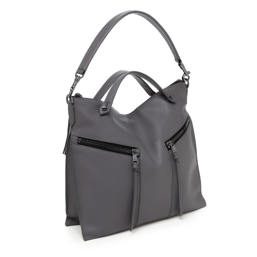 botkier trigger convertible hobo smoke front Alternate View