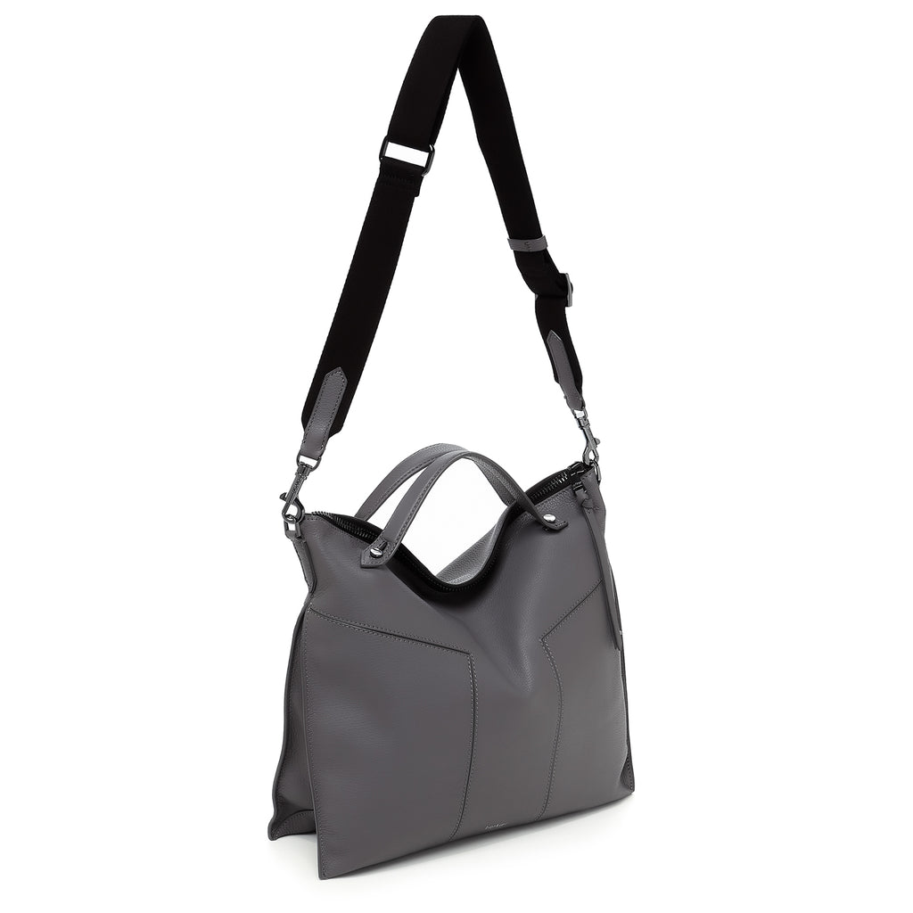 botkier trigger convertible hobo smoke back with strap