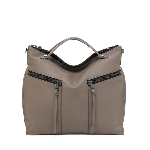 botkier trigger convertible hobo truffle front