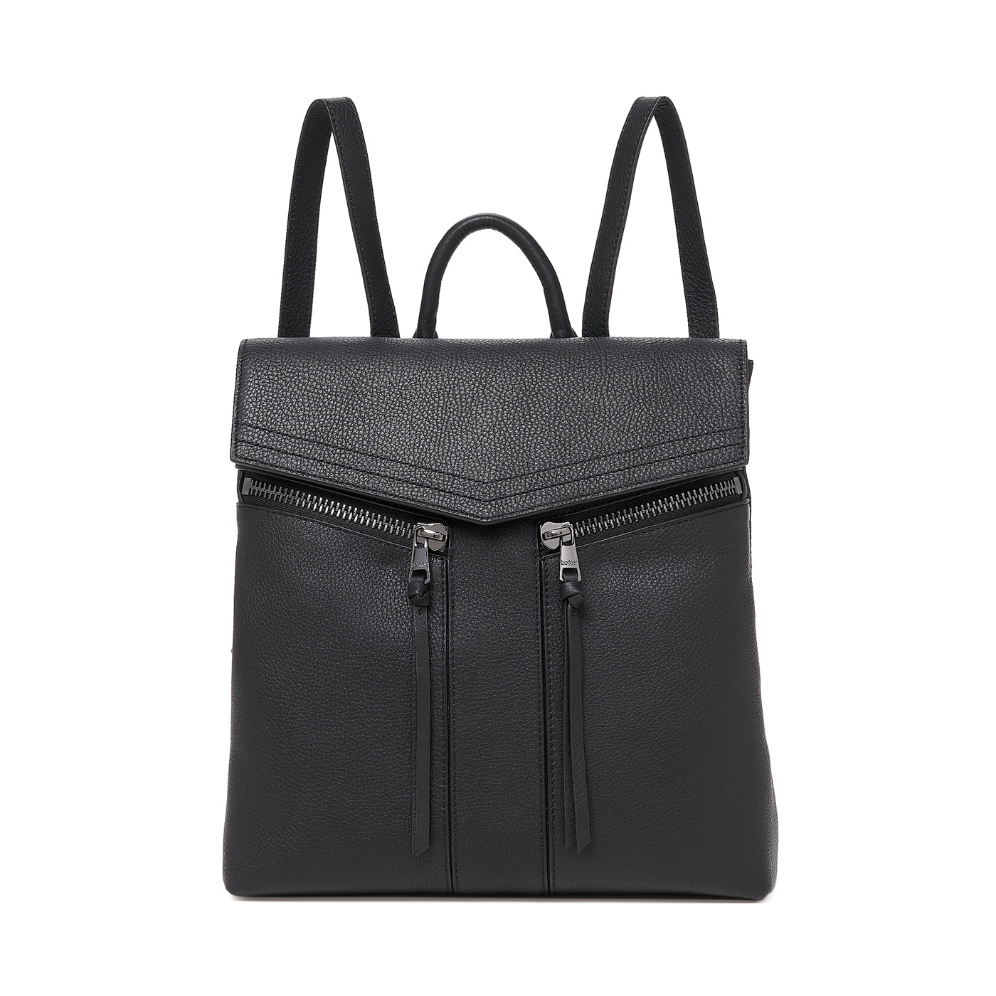 botkier trigger backpack black front