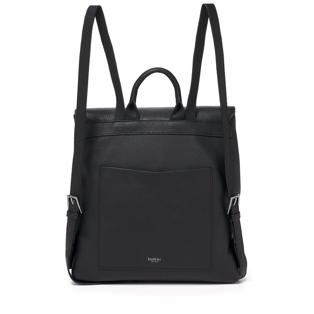 botkier trigger backpack black back