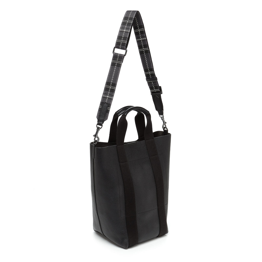 botkier sutton place shopper black back strap up