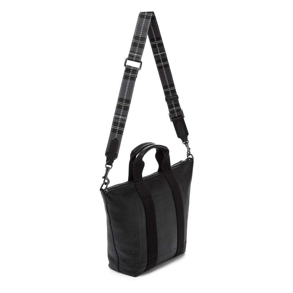 botkier sutton place tote black back strap up