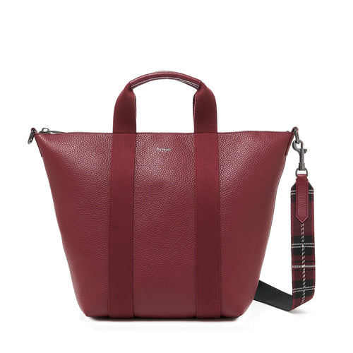 botkier sutton place tote cordovan front