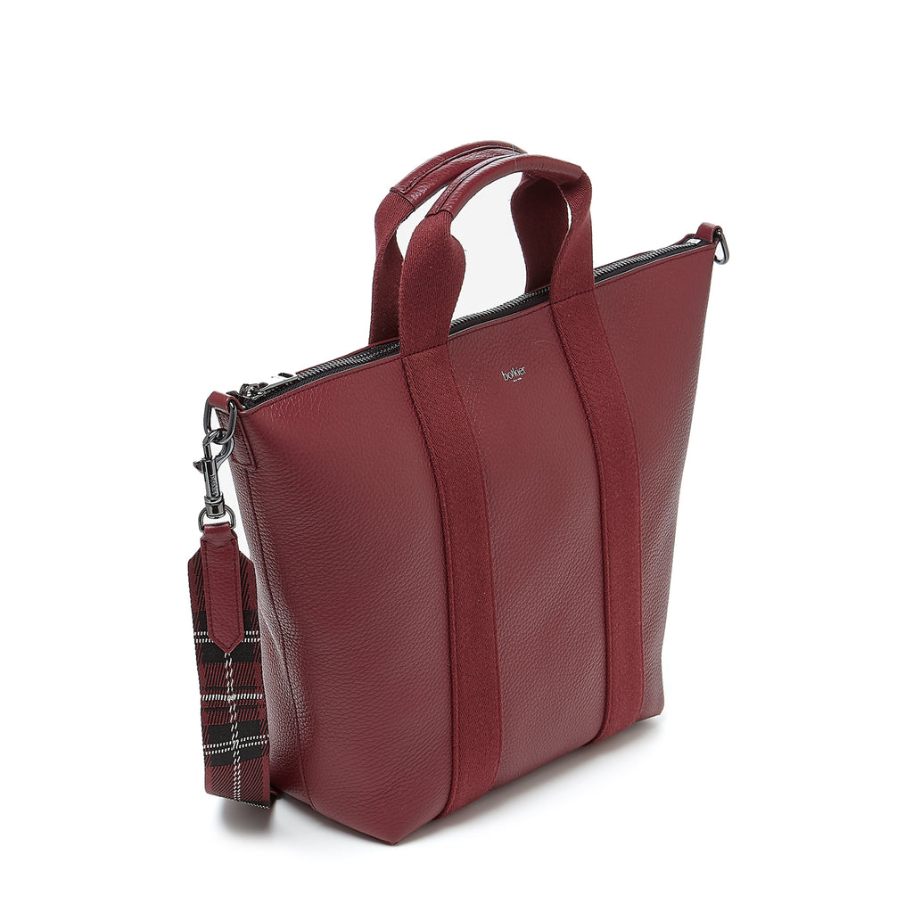botkier sutton place tote cordovan angle