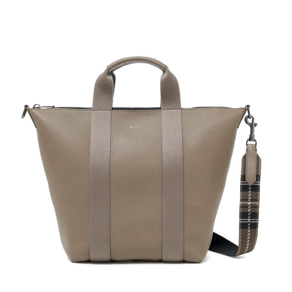botkier sutton place tote truffle front
