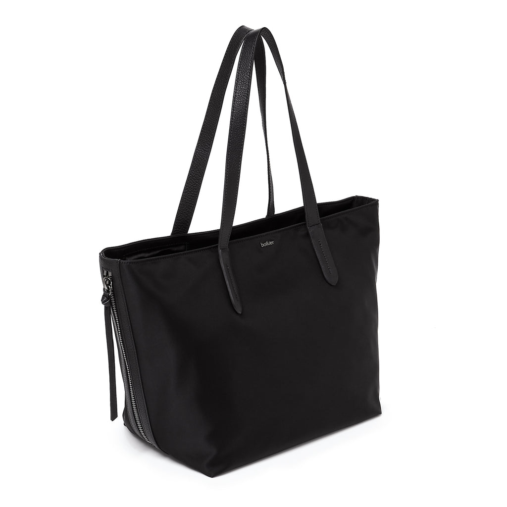 botkier bond tote black front angle