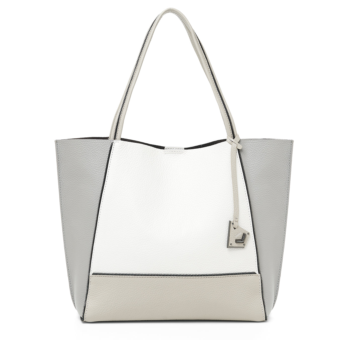 soho tote dove combo front view