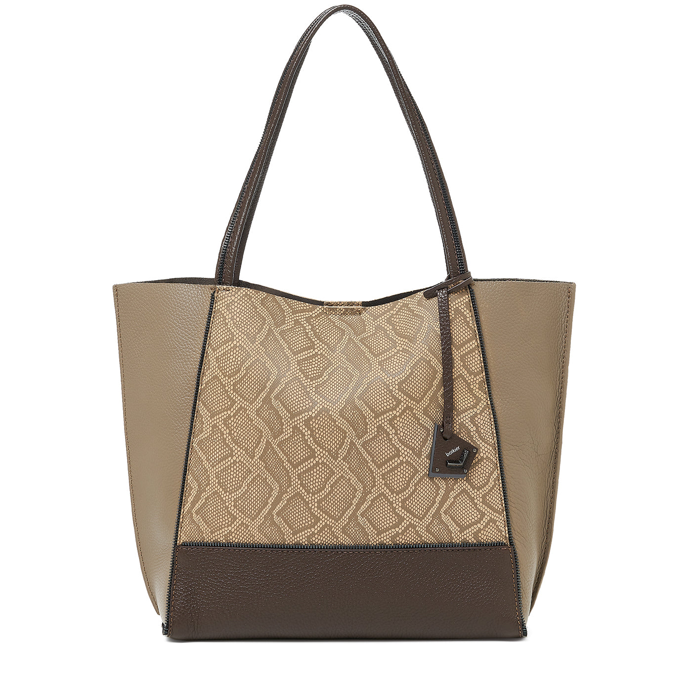 soho tote java snake combo front view