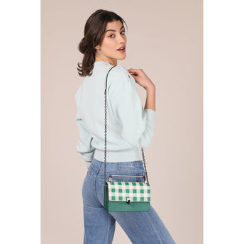 Lennox Crossbody (Gingham) Alternate View
