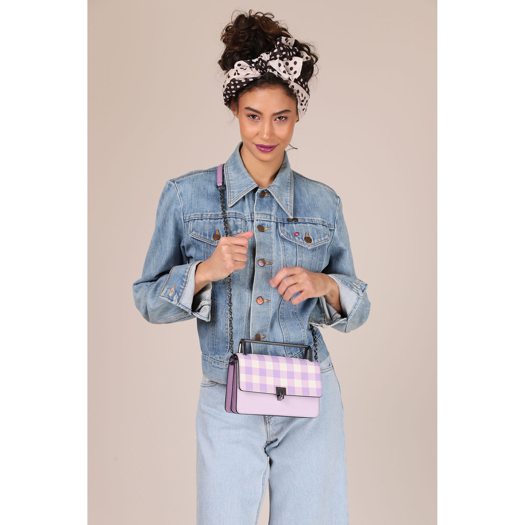 Lennox Crossbody (Gingham)
