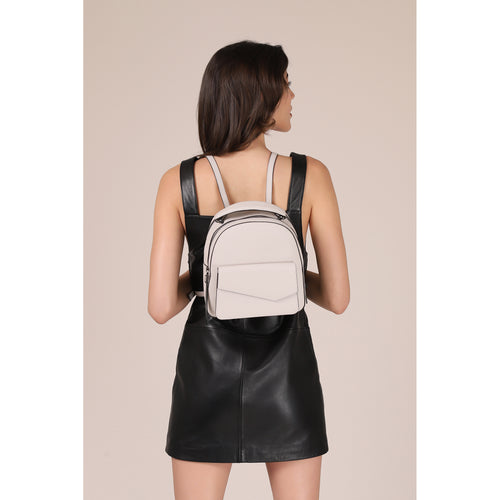 botkier cobble hill backpack in dove grey Alternate View