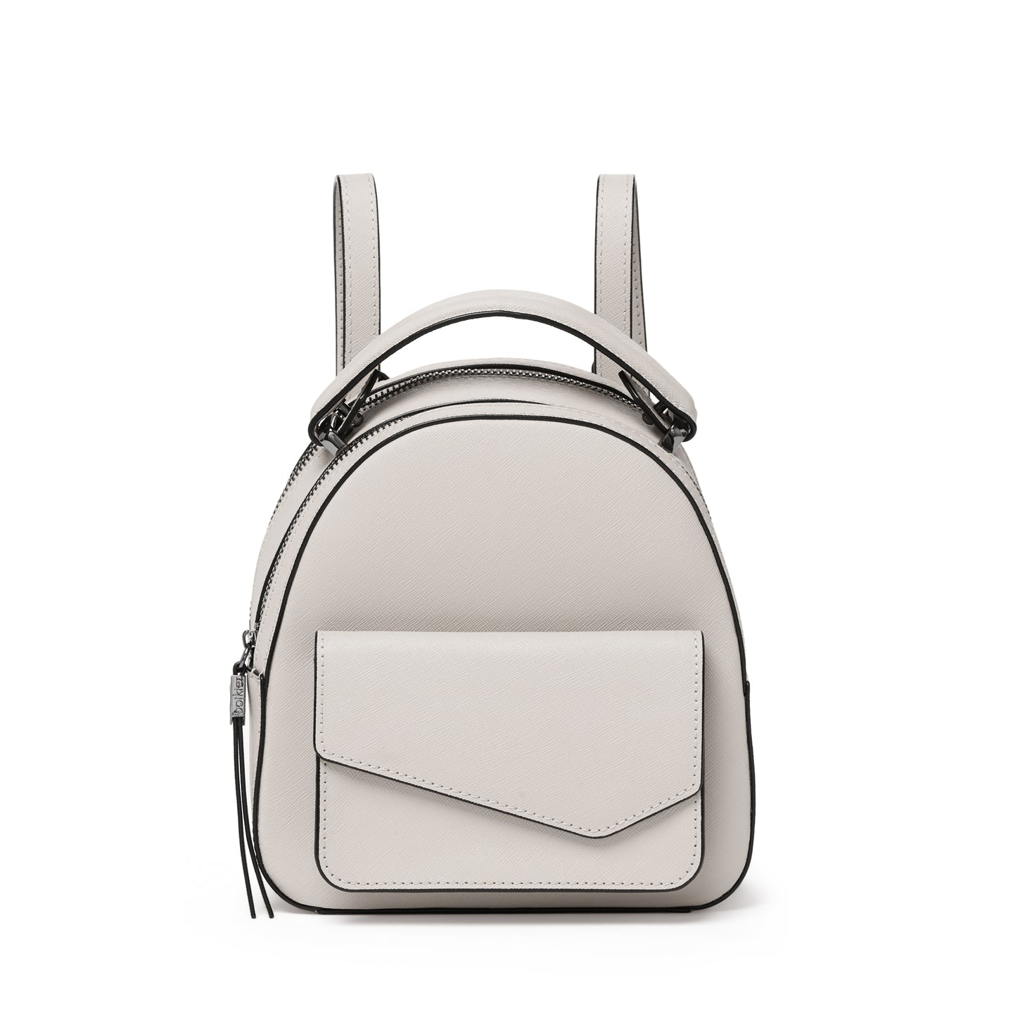 botkier cobble hill mini backpack in dove grey