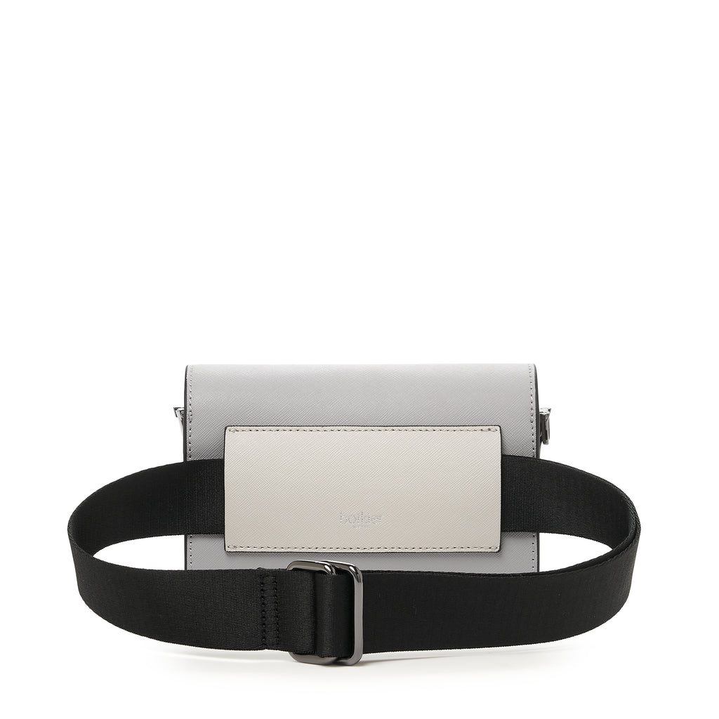 botkier cobble hill mini crossbody dove colorblock belt strap