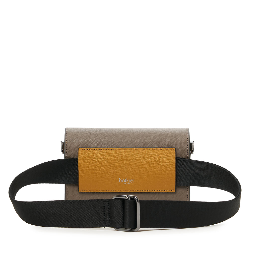 botkier cobble hill mini crossbody truffle colorblock belt strap
