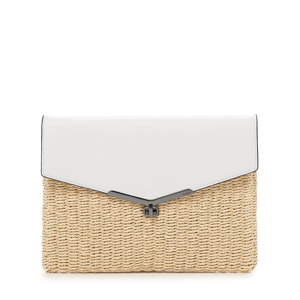 Valentina Straw Clutch