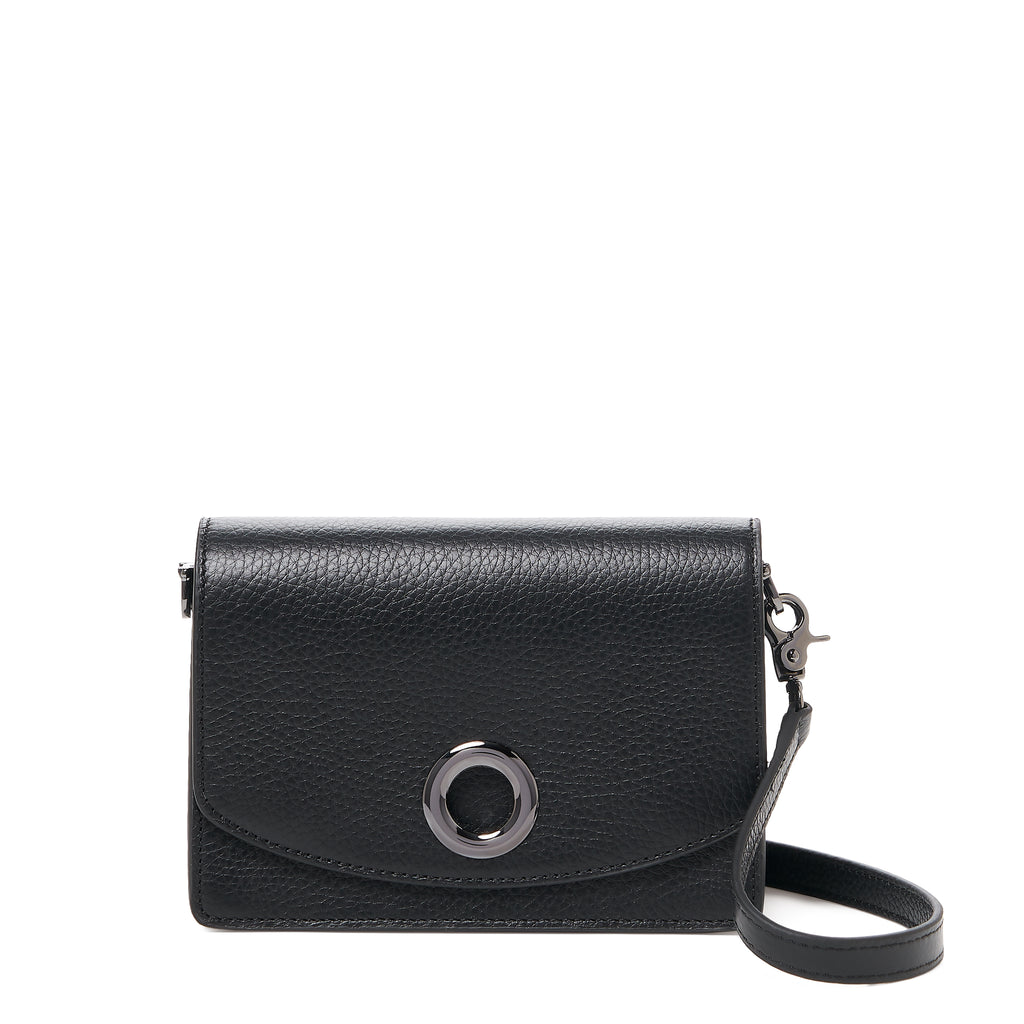 waverly crossbody black front