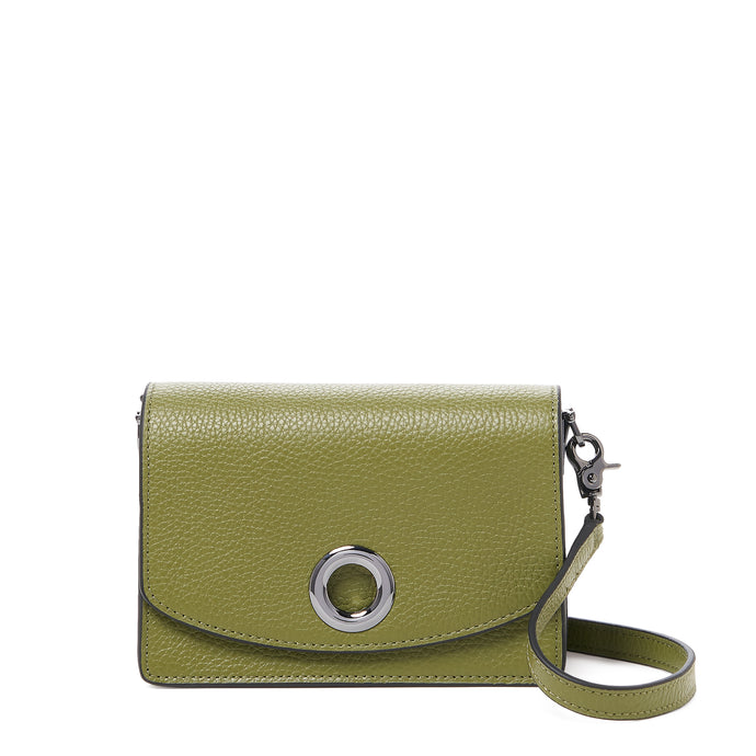 waverly crossbody moss front