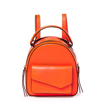 botkier cobble hill mini backpack neon orange front