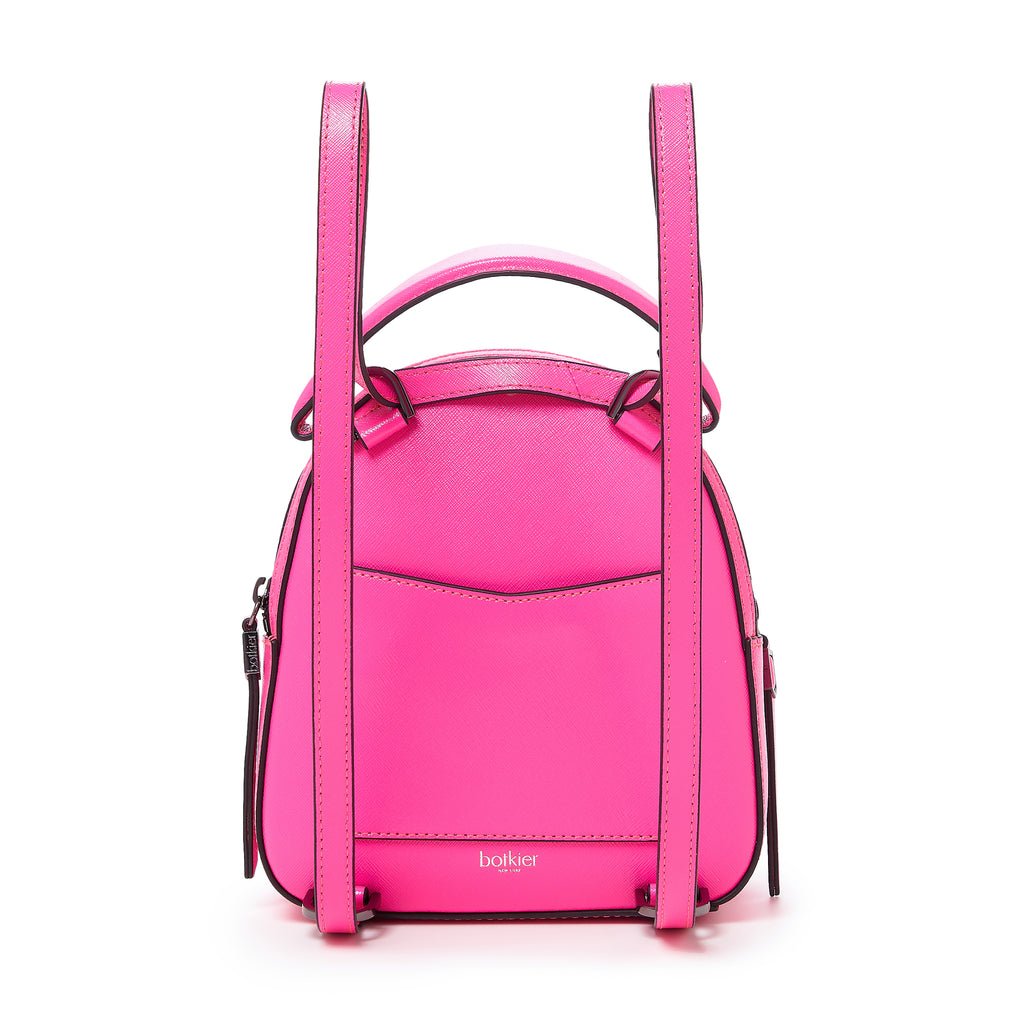 botkier cobble hill mini backpack neon pink back