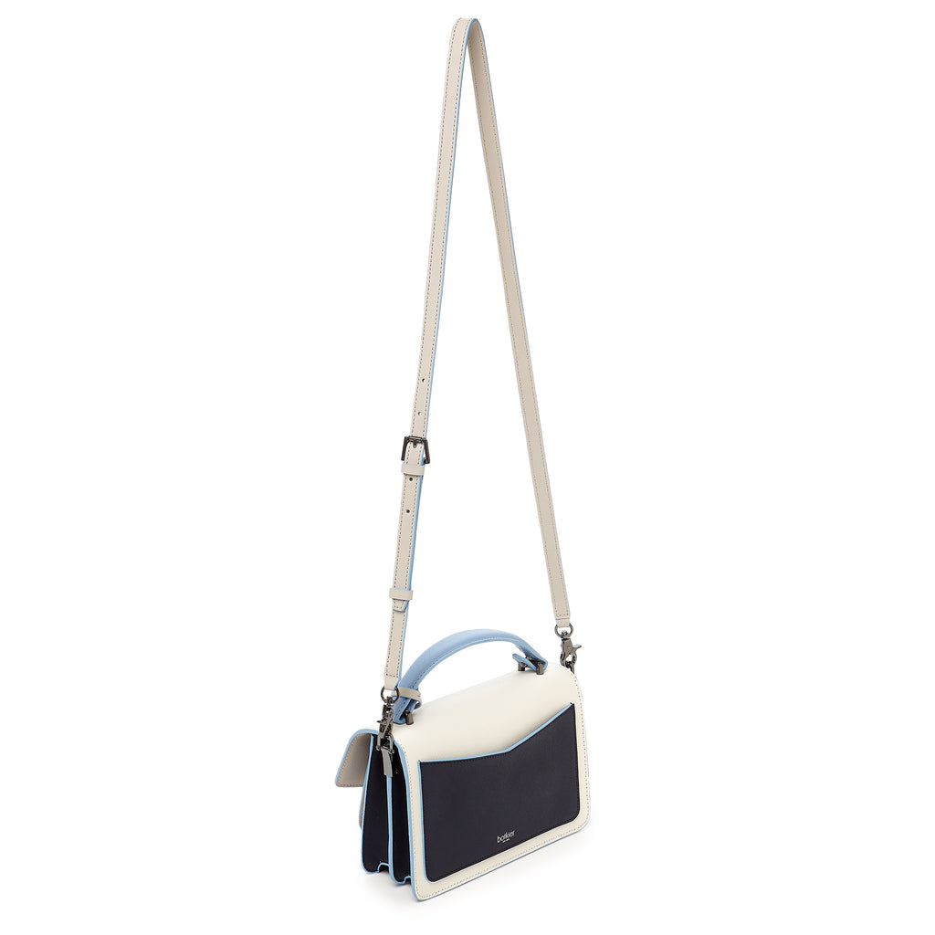botkier cobble hill crossbody ink colorblock leather strap