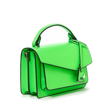 botkier cobble hill crossbody neon green angle