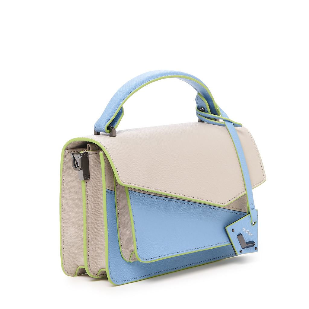 botkier cobble hill crossbody blue cadet sliced angle