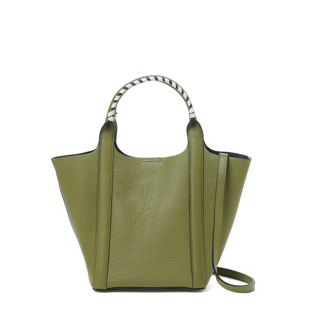botkier nomad mini tote moss front