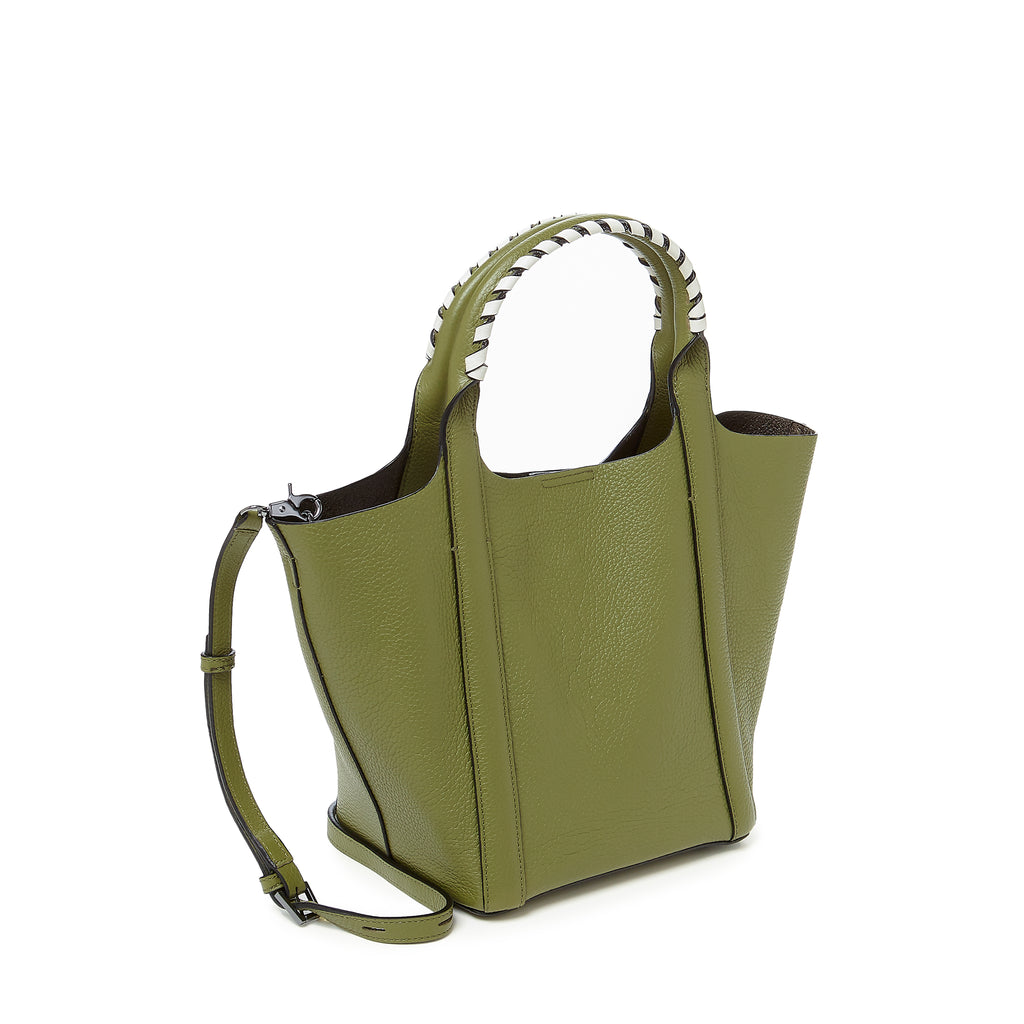botkier nomad mini tote moss angle