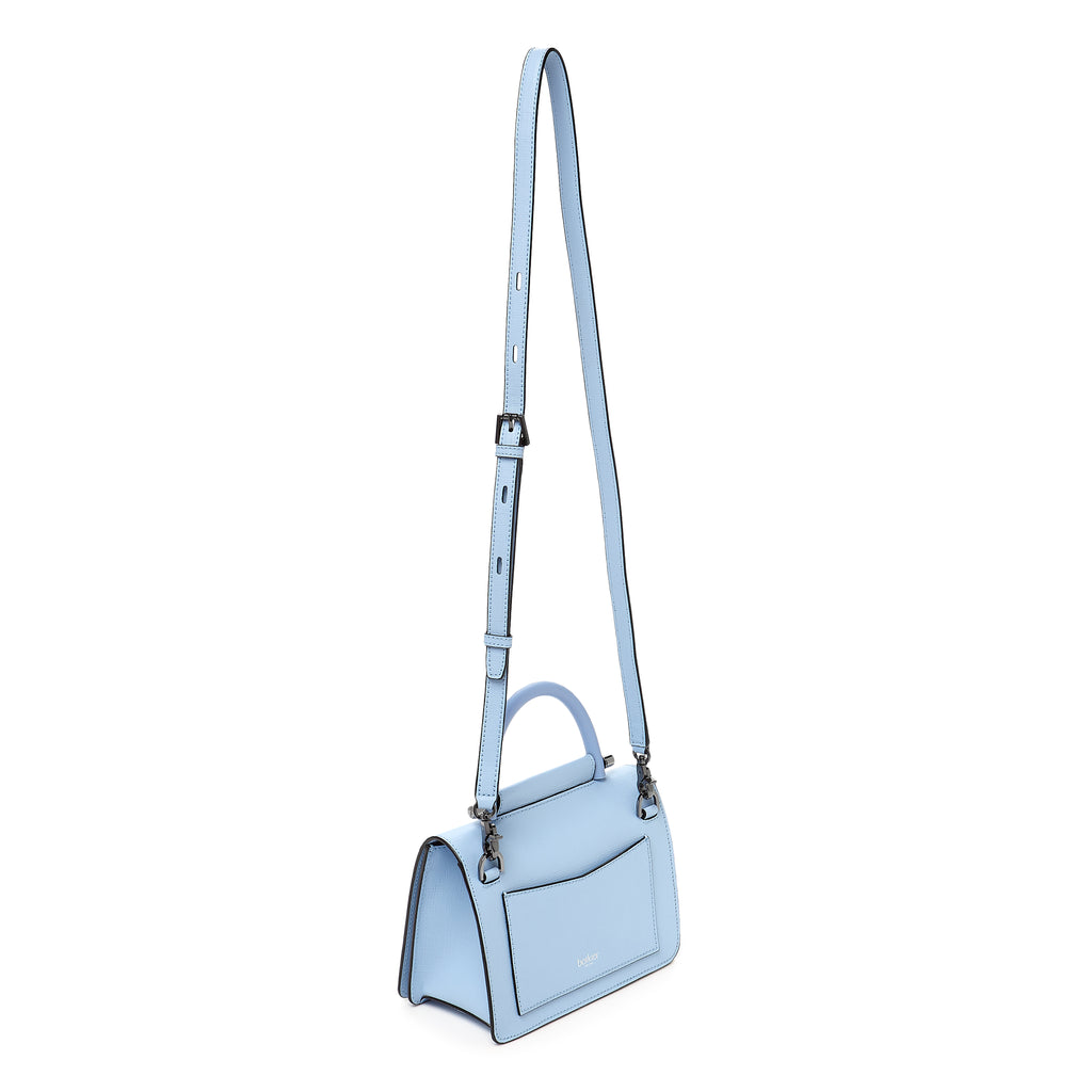 botkier austin top handle crossbody blue cadet strap