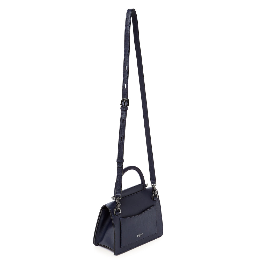 botkier austin top handle crossbody ink strap