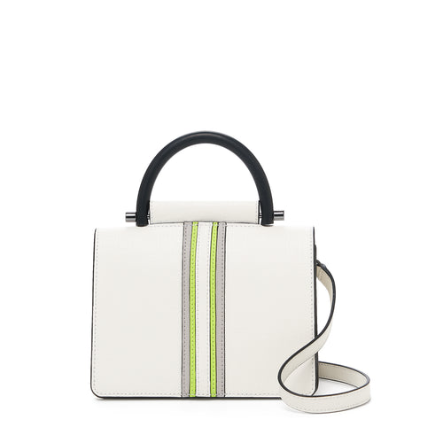 botkier austin top handle crossbody marshmallow front