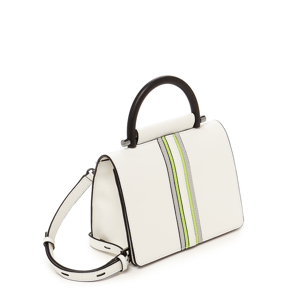 botkier austin top handle crossbody marshmallow side