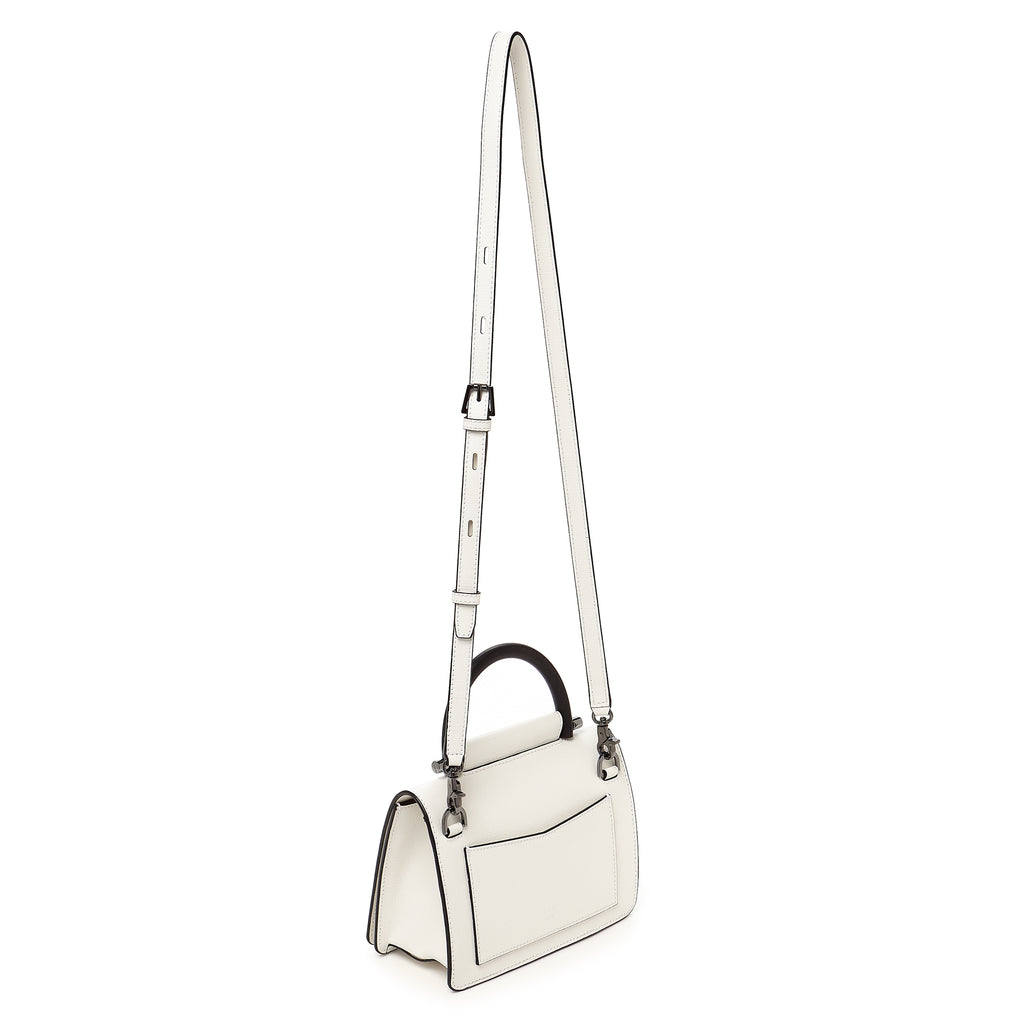 botkier austin top handle crossbody marshmallow strap