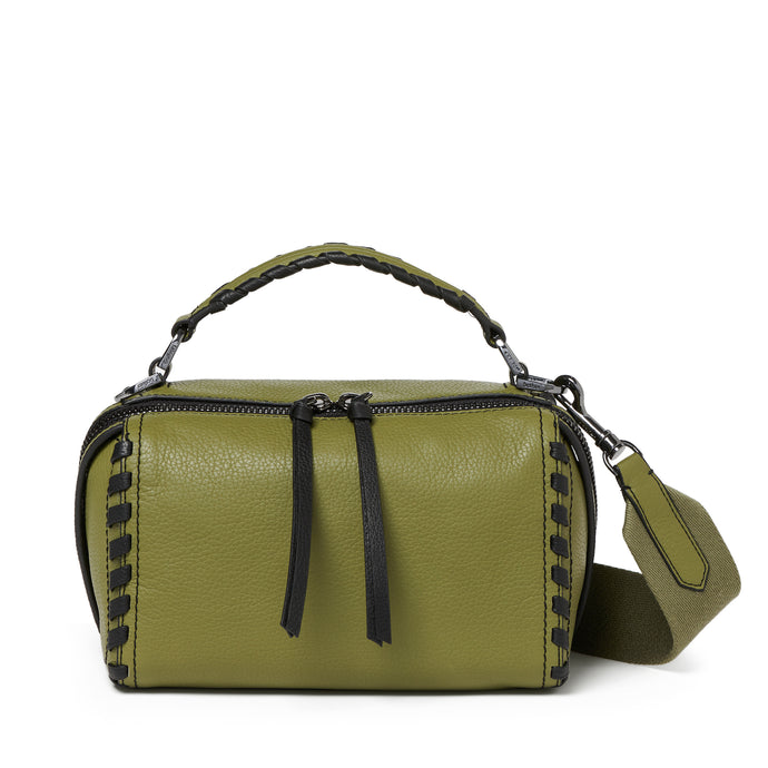 nomad crossbody moss front