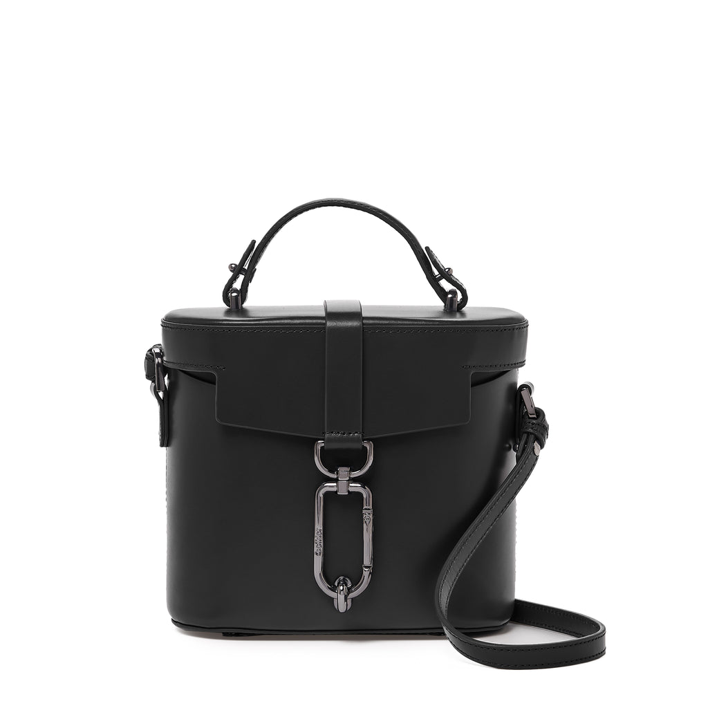 brooklyn canteen crossbody black front